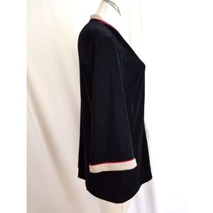 Chico's Sweaters - Chico's Travelers Size 2 L Open Cardigan